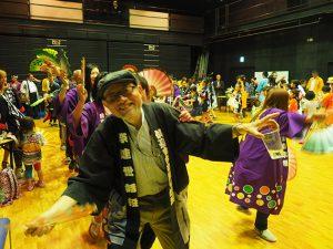 2016青葉まつり打上 総踊り